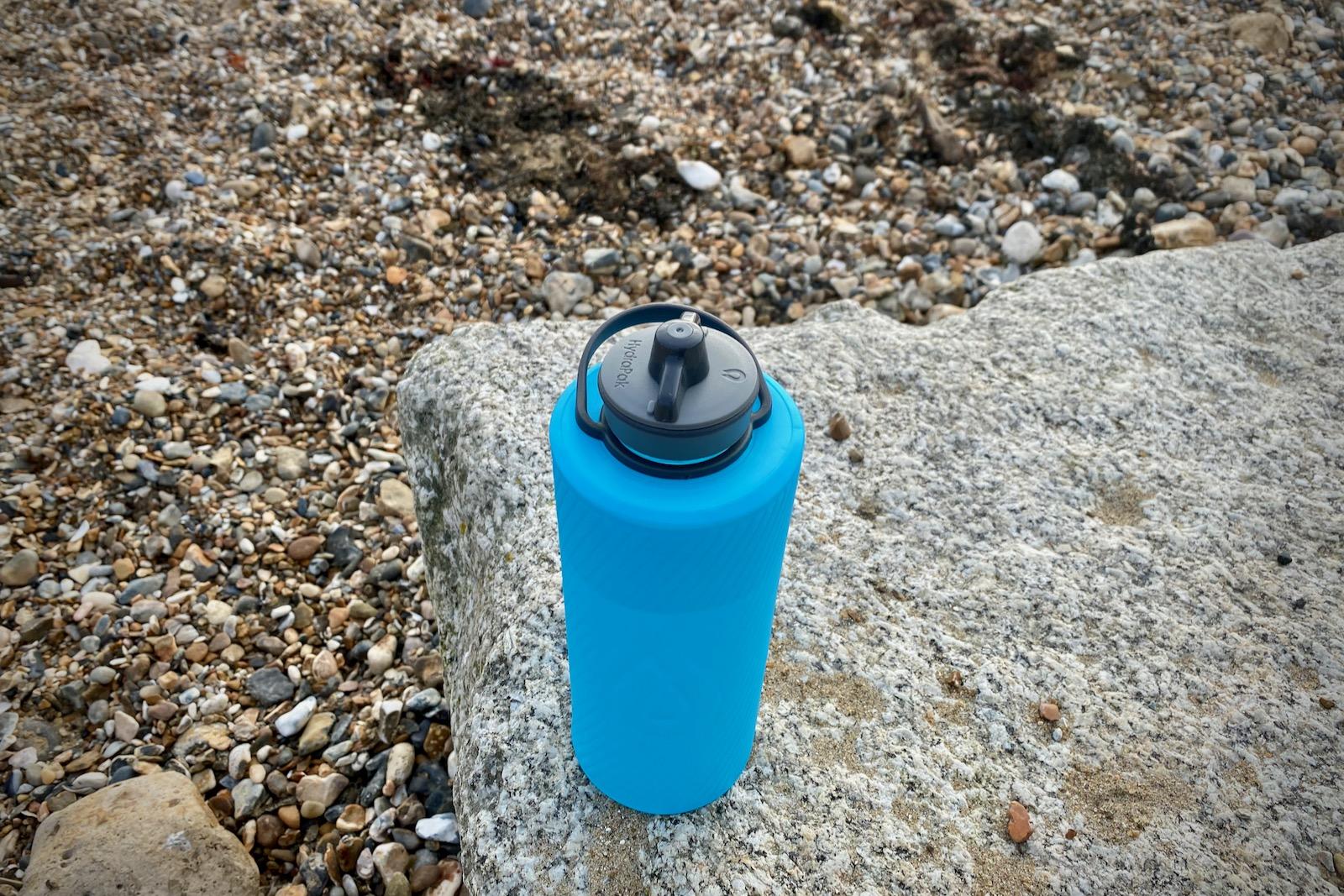 Review HydraPak Flux 1L Flexible Water Bottle