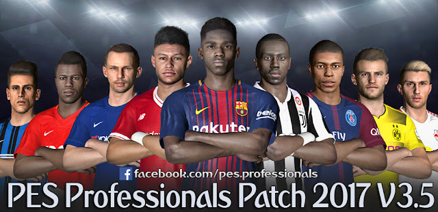 Update Patch PES 2017 dari PES Professionals V3.5
