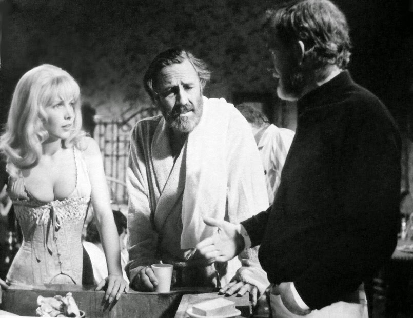 Jason Robards On Set With The Oscar Winning Character