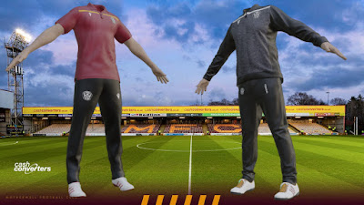 PES 2020 Motherwell Polo Shirts & Track Suits by PESWilliam