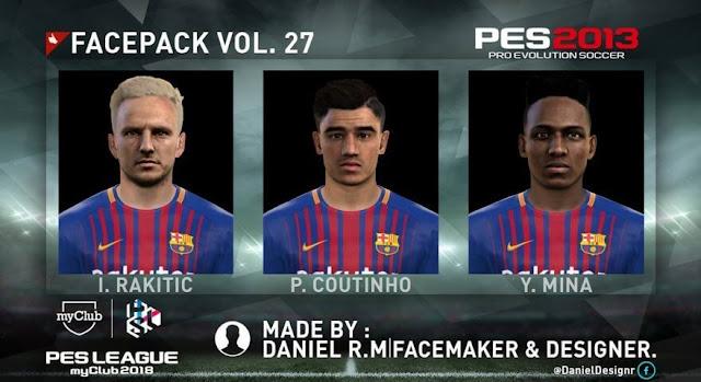 Facepack Vol. 27 PES 2013