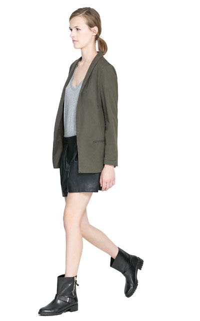 Loose Fit Blazer by Zara