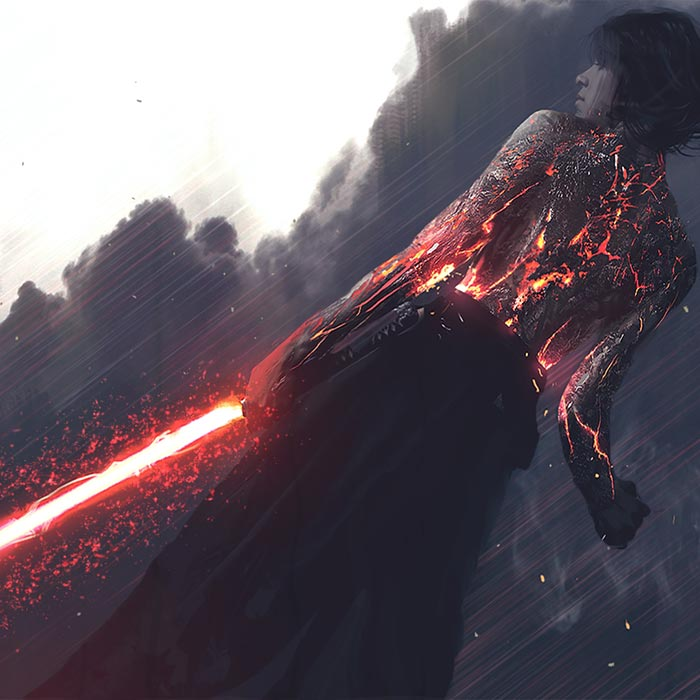 [Star Wars] Dark Side Jedi Wallpaper Engine