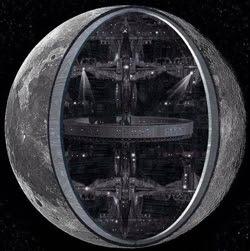 ¿Es la Luna una nave espacial controlada por inteligencias extraterrestres y utilizada para observarnos
