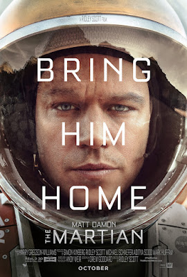 International poster of The Martian movie