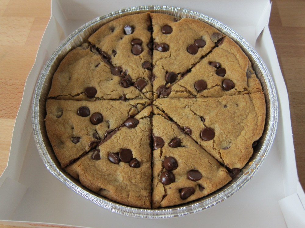 How Long To Cook A Cookie Cake