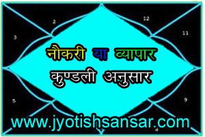 hindi jyotish for career, kaun sa career chune - vyapaar ya naukri.