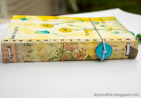 Layers of ink - Junk Journal Tutorial by Anna-Karin Evaldsson.