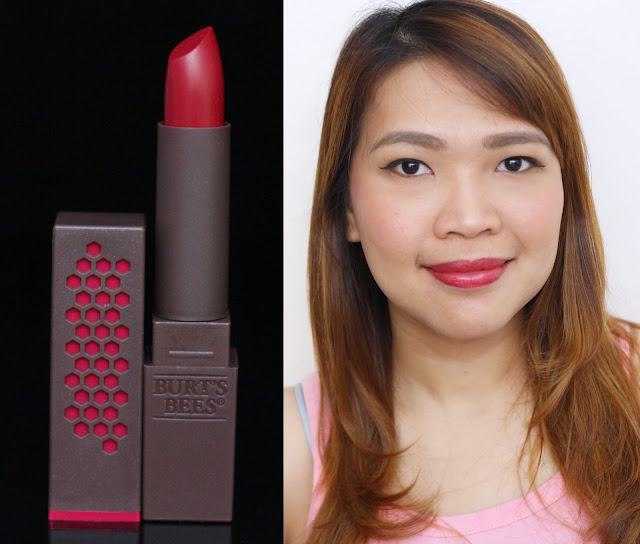 a photo of Burt's Bees 100% Natural Lipstick Brimming Berry