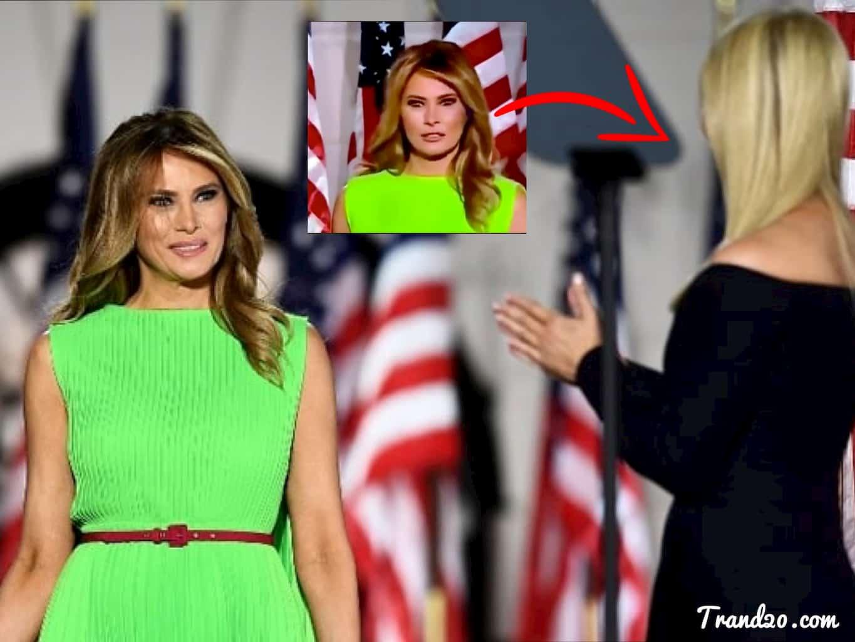 تعابير وجه ميلانيا ترامب أثناء تحية أيفانكا تثير الجدال عبر السوشيال ميديا
