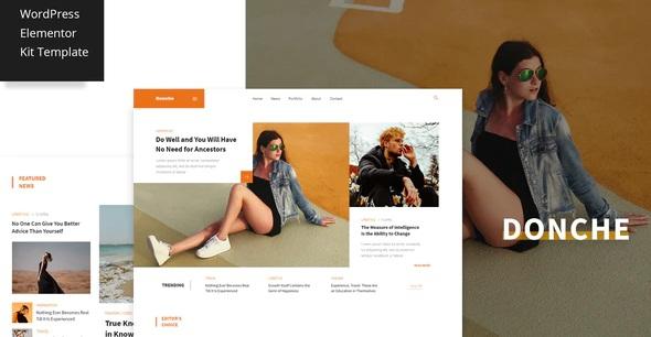 Blog News & Magazine Template