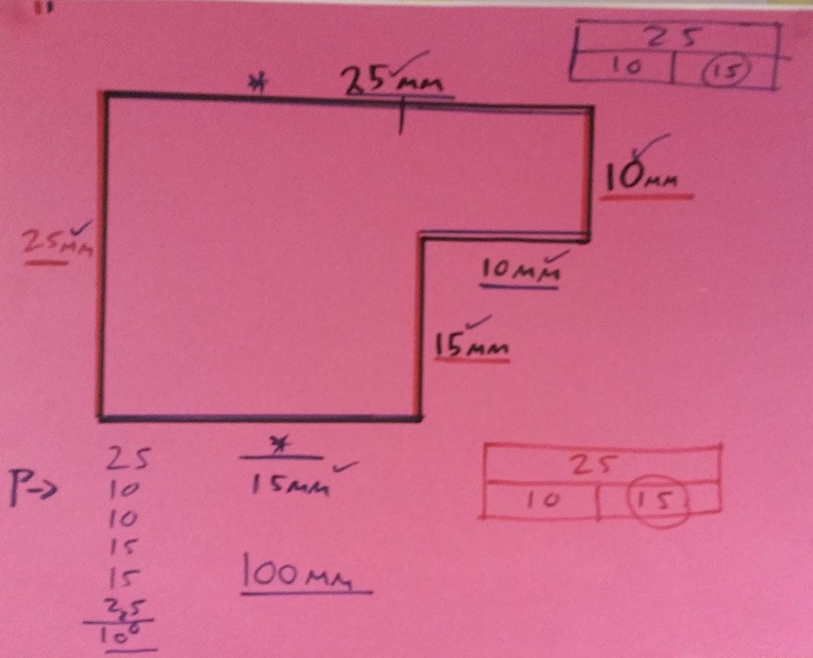 Primary Ideas Part Part Whole Bar Model Amp Perimeter
