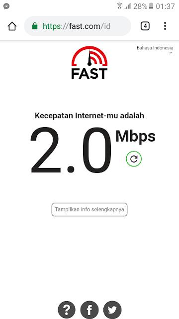 tentunya pasti mengharapkan koneksi jaringan internet yang bagus dan cepat ketika sedang  Cara Ampuh Test / Uji kecepatan Internet Android Yang Akurat dan Benar