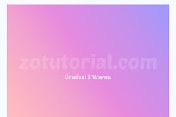 Membuat Backgroud Gradasi 3 Warna di CorelDRAW 2020