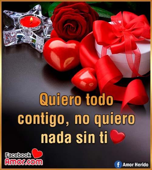 frase de amor con rosa roja