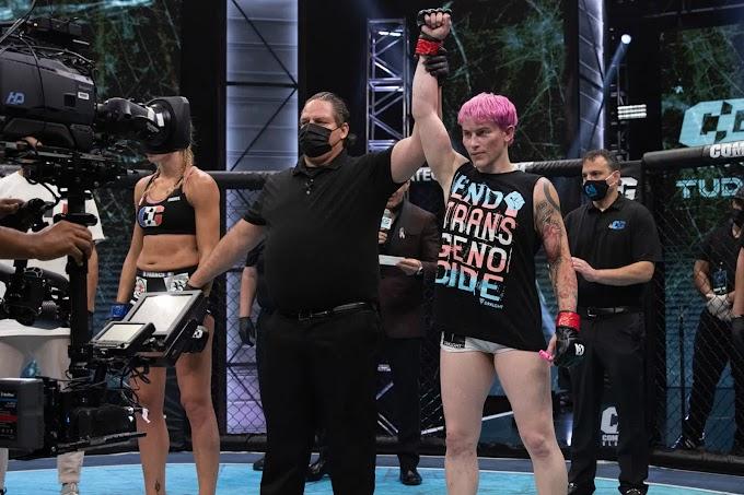 Győzelemmel kezdett az első nyíltan transznemű MMA-versenyző
