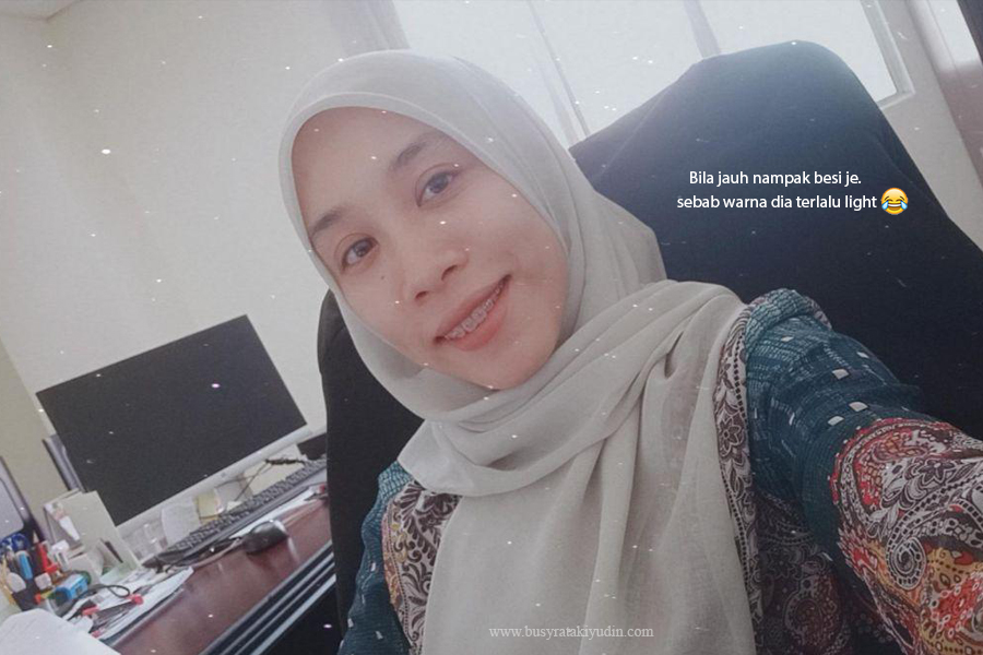 braces review, pakai braces, experience pakai braces, klinik pergigian beauty smile, getah braces, gold color,