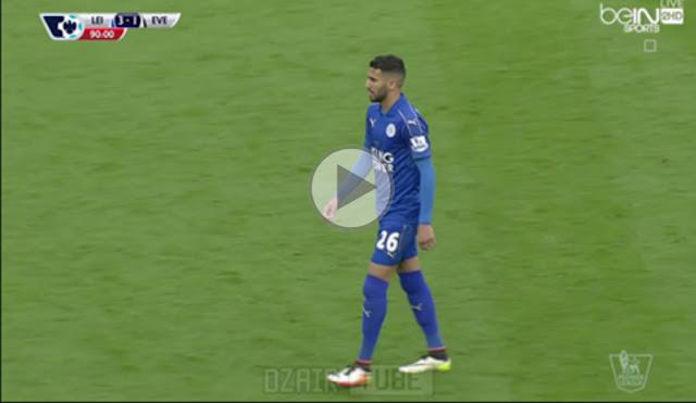 VIDÉO : Tout ce qu'a fait Riyad Mahrez face à Everton