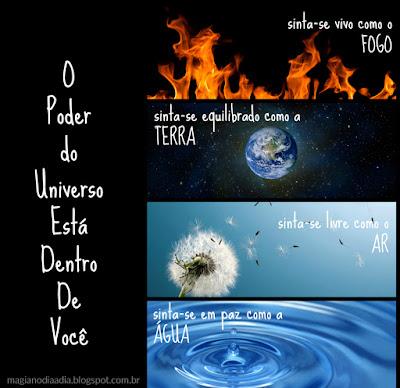 o poder dos 4 elementos