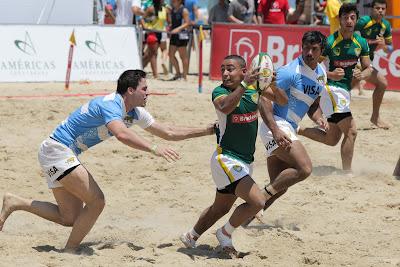 Desafio Beach Rugby BRA de 2015 - Crédito/Foto: Divulgação/CBRu