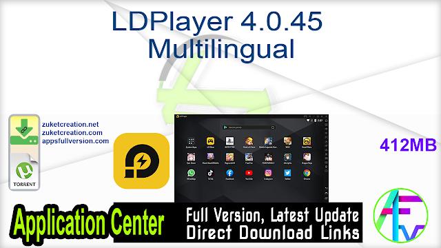 LDPlayer 4.0.45 Multilingual