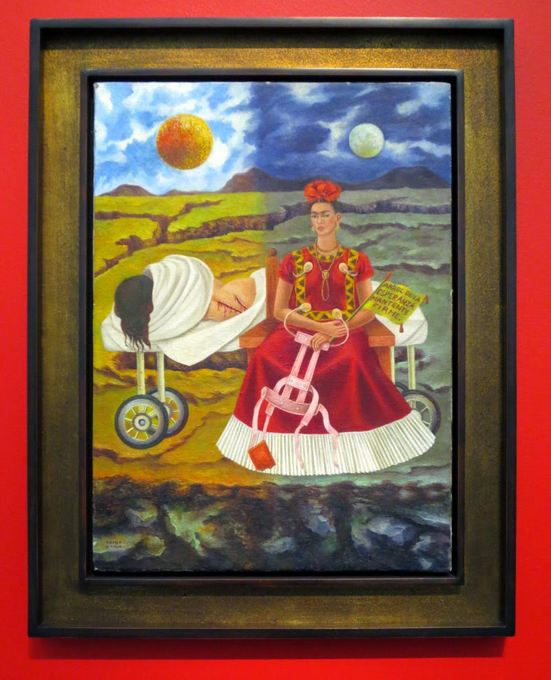 Painting by Frida Kahlo, on exhibit at MOCA