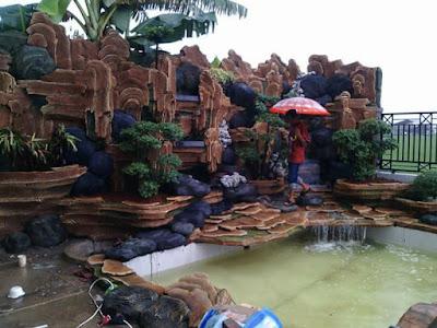 Jasa Pembuatan Relief Tebing Taman Malang
