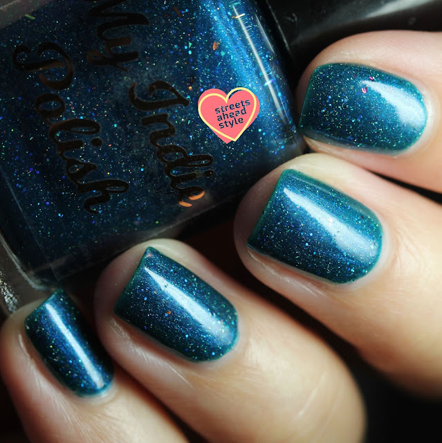 My Indie Polish Teal Next Year swatch by Streets Ahead Style