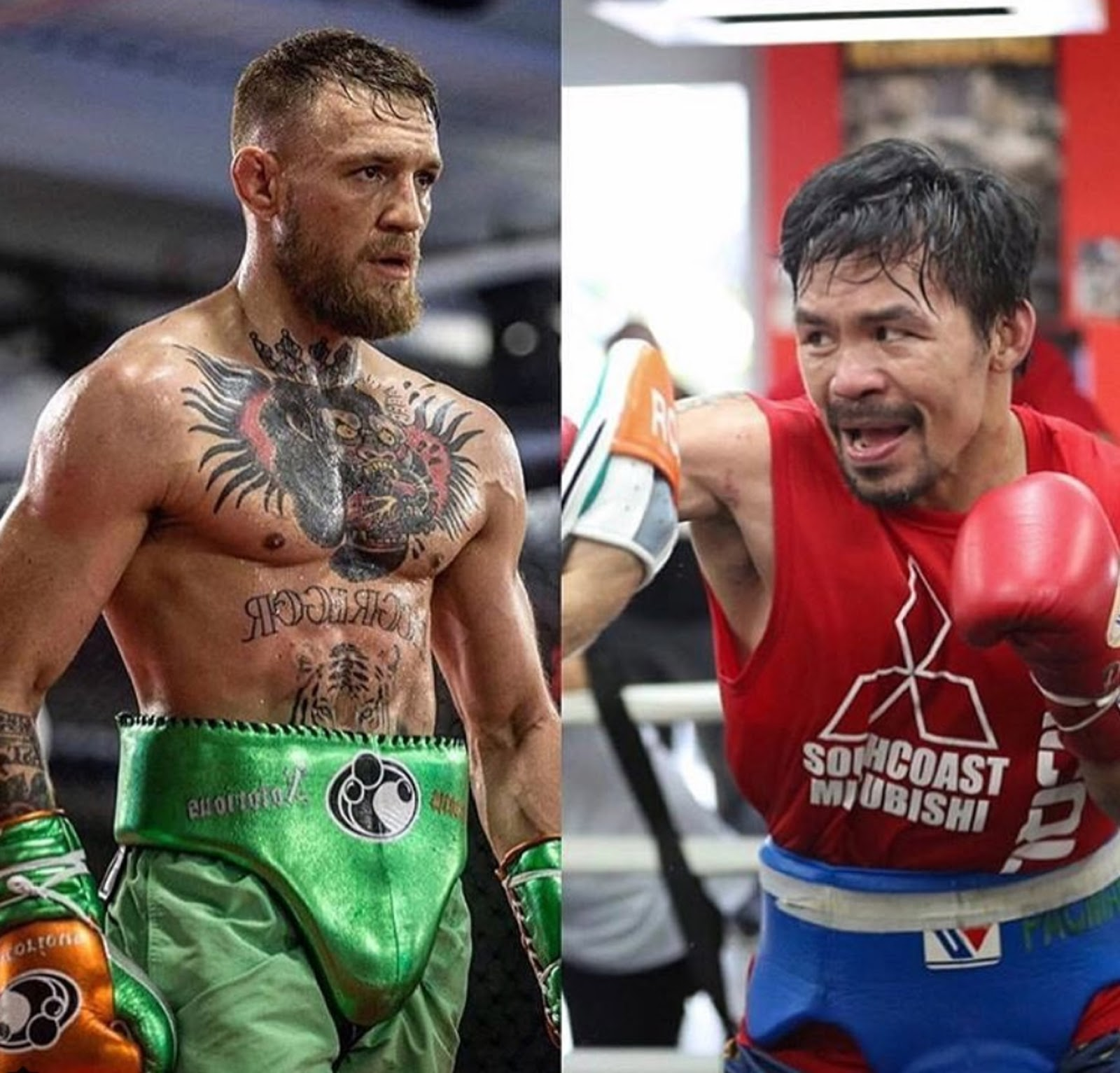 CONOR MCGREGOR VS MANNY PACQUIAO 7