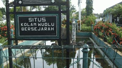 Situs Kolam Wudhu Masjid Demak