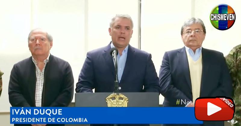 Iván Duque advierte que las FARC está reclutando niños venezolanos para sus filas terroristas