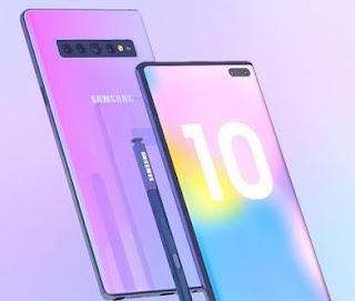 Cara Screenshot Samsung Note 10