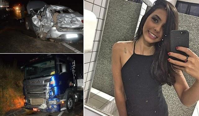 Rialma: Acidente na BR-153 deixa duas pessoas mortas