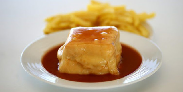 Porto Tradition Francesinha Gastronomy Food Restaurant Oporto Portugal