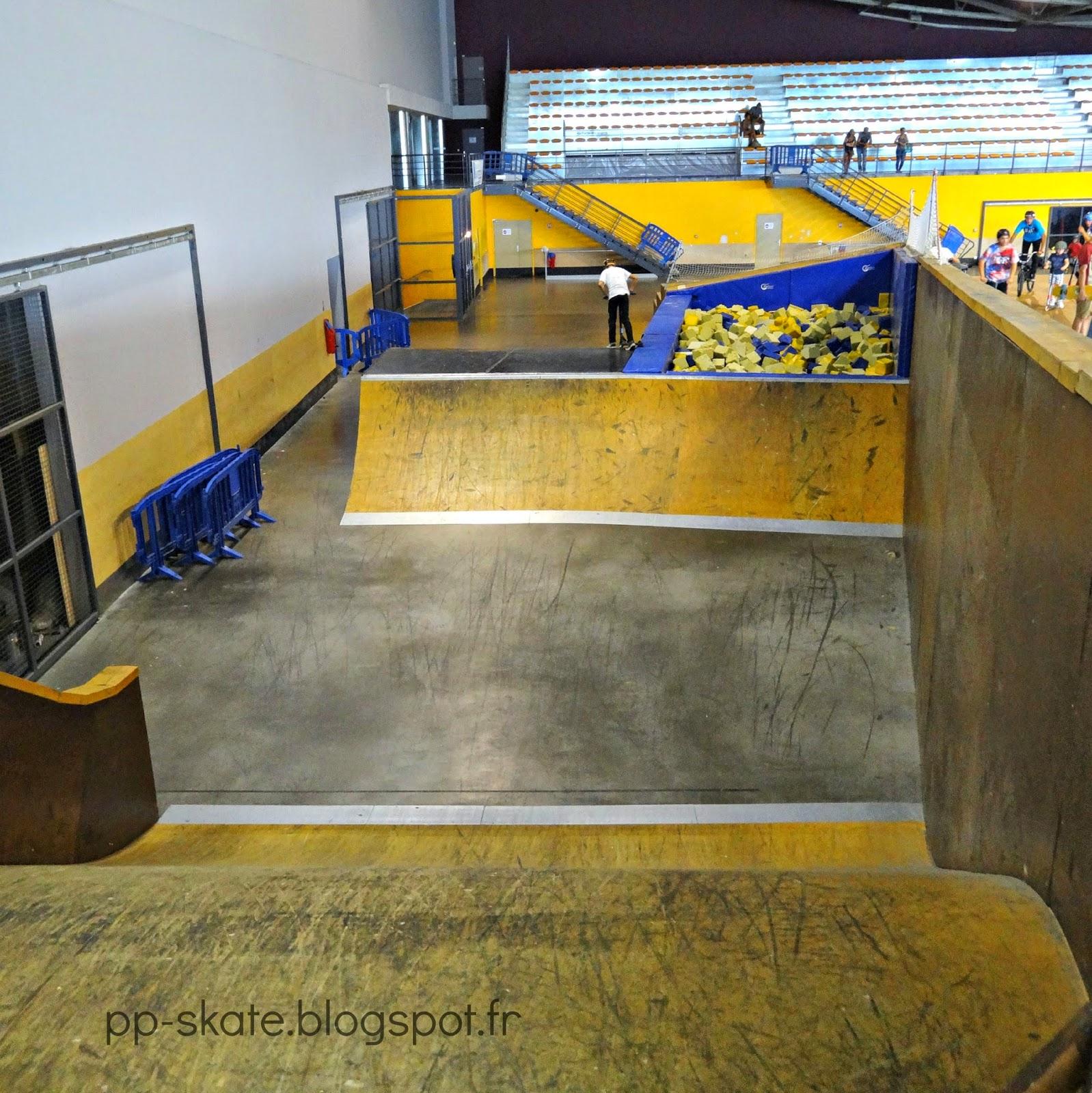 bac à mousse skatepark marseille