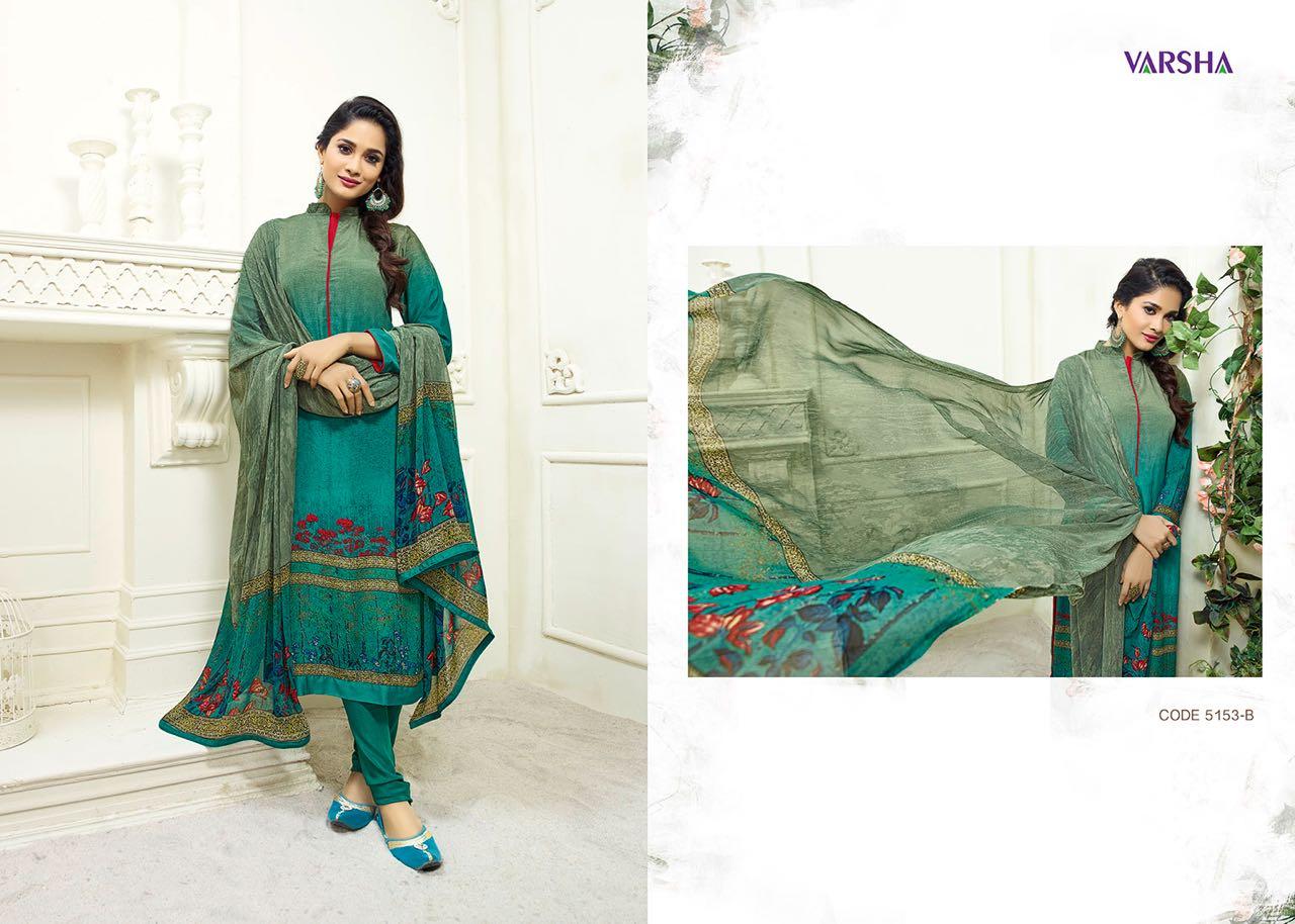 ANTRA-New Arrival Designer Polyster Crepe Dress Material