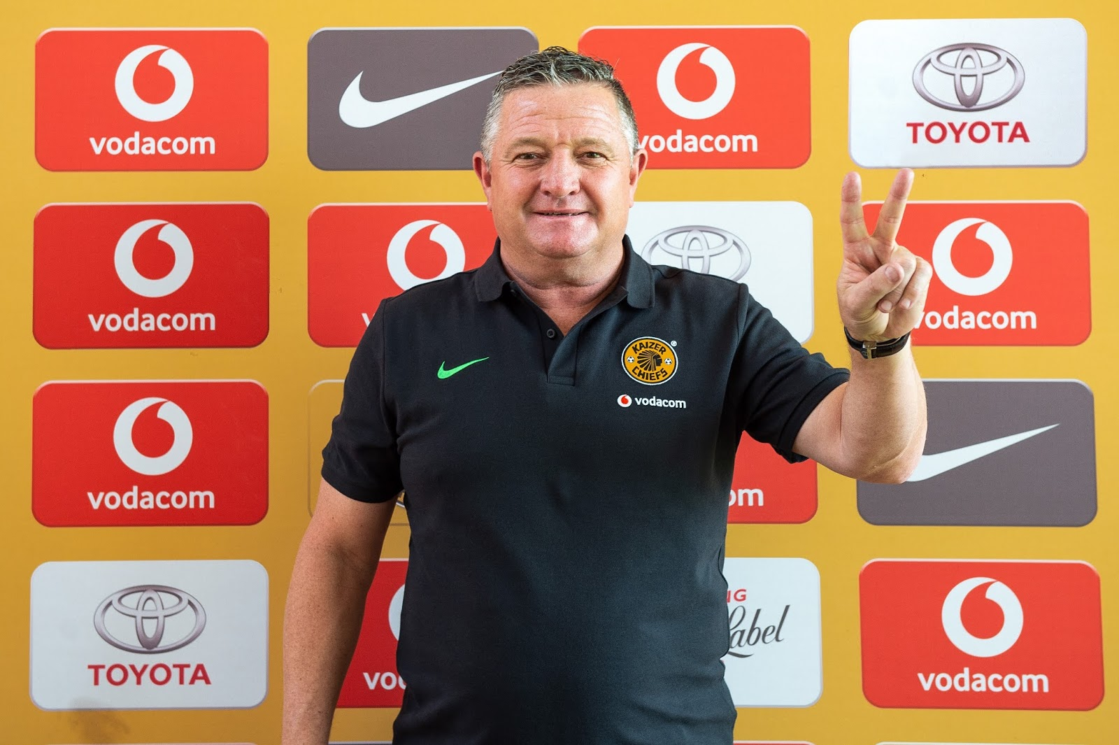 Newly-appointed Kaizer Chiefs manager Gavin Hunt