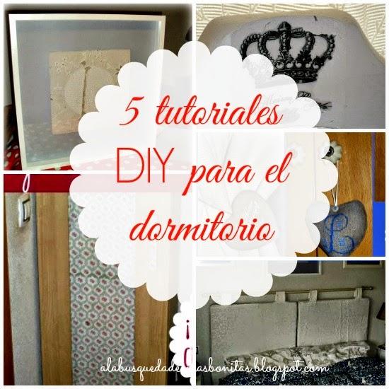 Tutoriales DIY dormitorio