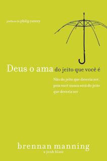 livro Deus o ama do jeito que você é