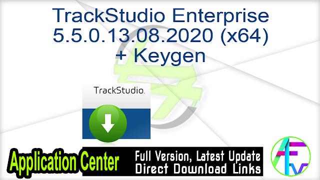 TrackStudio Enterprise 5.5.0.13.08.2020 (x64) + Keygen
