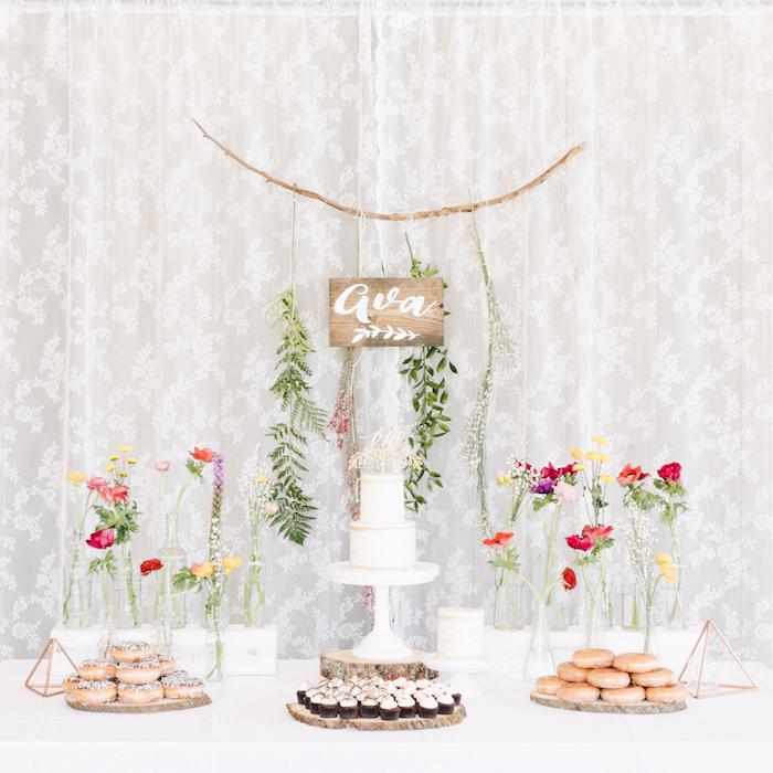 Como organizar una botanic party o fiesta floral by Habitan2 | Decoración handmale para hogar y eventos