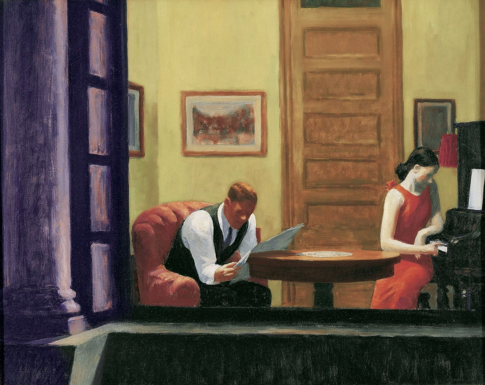 La Chambre A New York Edward Hopper Devoirs En Tout Genre Nighthawks De Edward Hopper