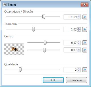 Mr Tiger-Definições Efeitos-Distorção-Torcer Paint.NET