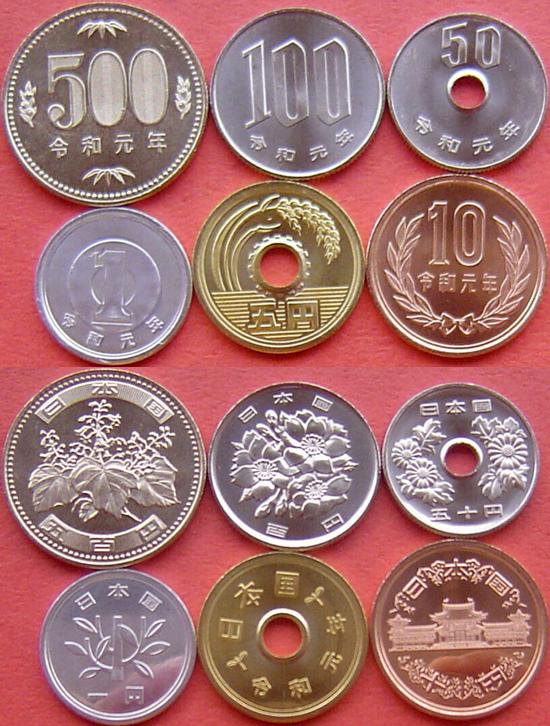 Japan 2019 - New coin family for the REIWA era