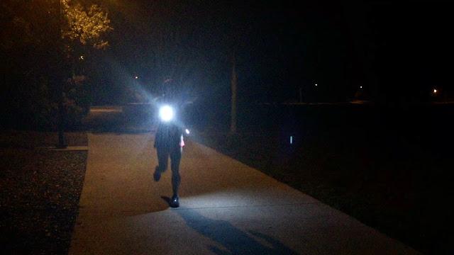 Knuckle Lights on the run