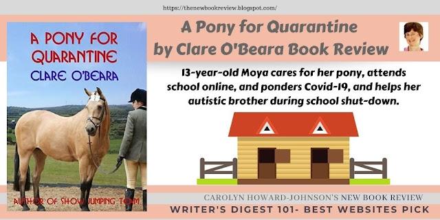 A Pony for Quarantine by Clare O'Beara Book Review