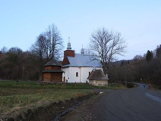 Cerkiew w Łopience.