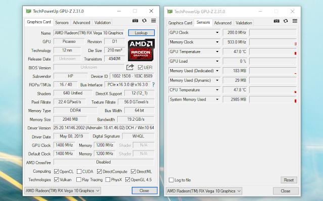 chip grafis hp elitebook 735 g6