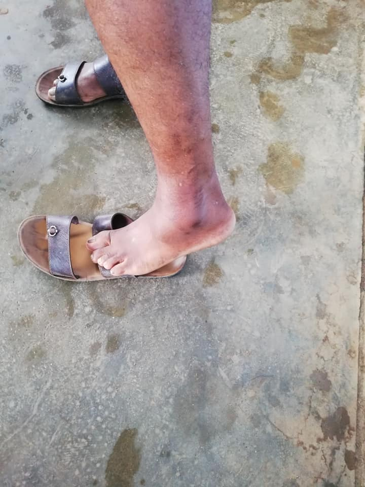 army officer brutally assaulted