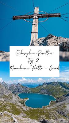 Schesaplana Rundtour Tag 2 | Mannheimer Hütte – Schesaplana – Lünersee - Brand | Hüttentour Rätikon 21